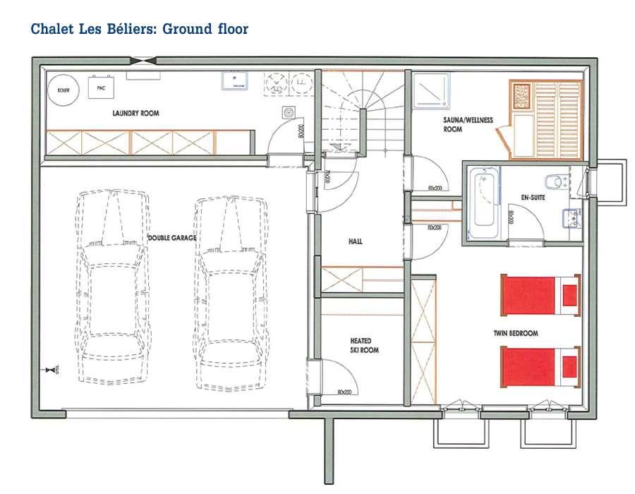 Chalet Portes Soleil Floor Plans