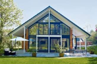 Chalet Style Home Borgonha Baufritz Homes
