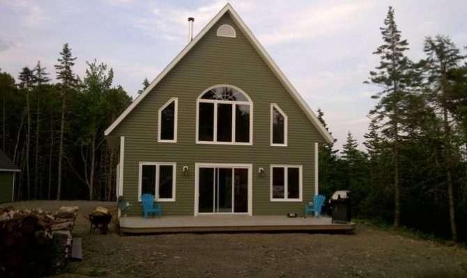 Chalet Style House Albert Bridge Nova Scotia Estates Canada