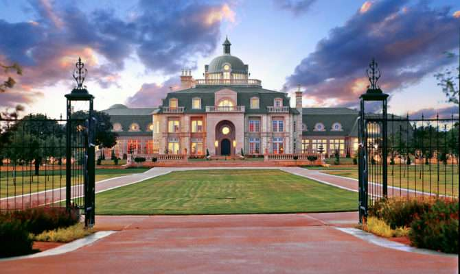 Champ Mansion Texas Mansions More