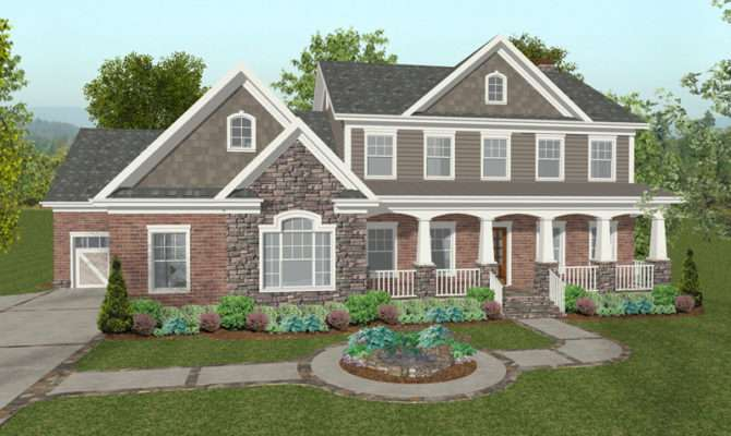 Chancellor Craftsman Home Plan House Plans More