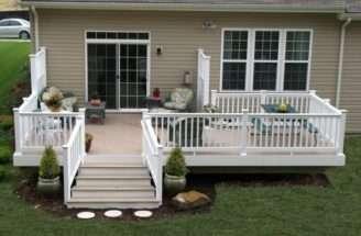 Charming Decks Mobile Homes Decor