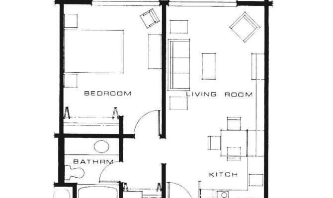 Charming One Bedroom Guest House Plans Ideas Also Rent