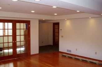 Cheap Flooring Basement