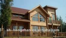 Cheap Prefabricated Container Steel Wood House Kit Villa