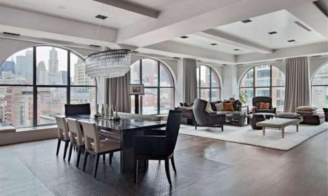 Chic Loft Apartment Fabulous Ideas Living Room Interiors