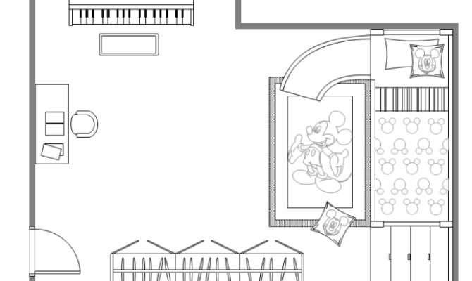 Children Bedroom Interior Design Can Add More Elements