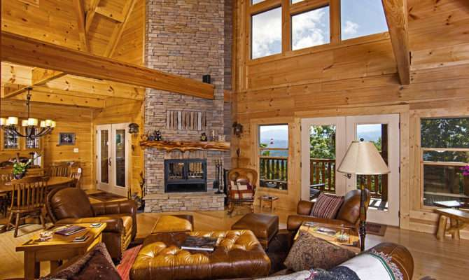 Chilhowee Final Pics Custom Timber Log Homes