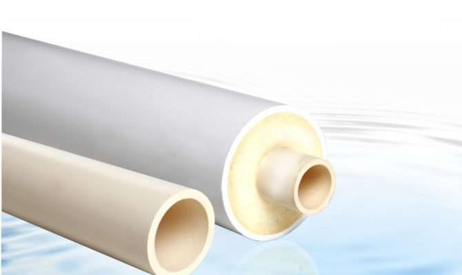 China Cpvc Hot Cold Water Insulated Pipe Solar