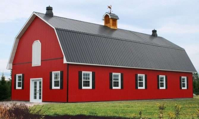 Choose Metal Barn Style Home Plans Design Your Own House Plan