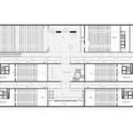 Cinema Multiplex Floor First Plan