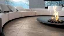 Circular Conversation Pit Central Fireplace Design Olpos