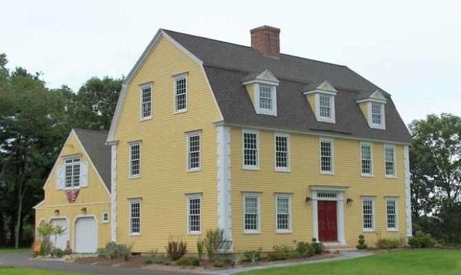 Classic Colonial Gambrel Beautiful Homes Pinterest