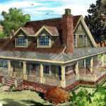 Classic Country Farmhouse House Plan