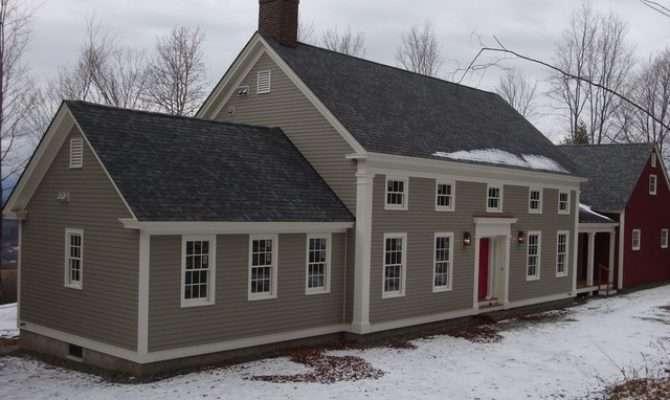 Classic Greek Revival Story Half Home Farmhouse