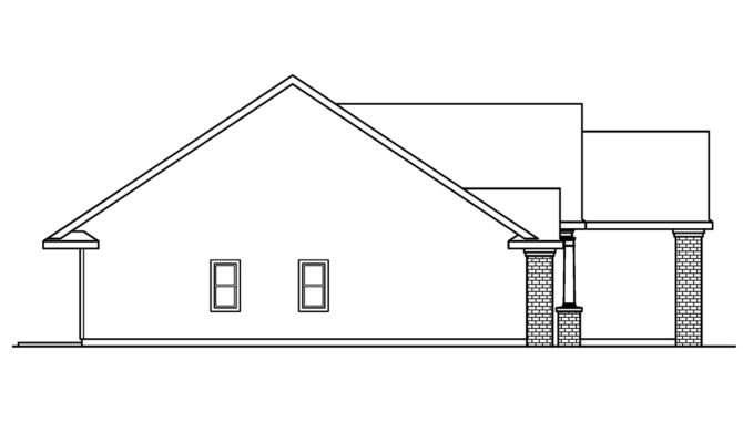 Classic House Plans Glenbarr Associated Designs