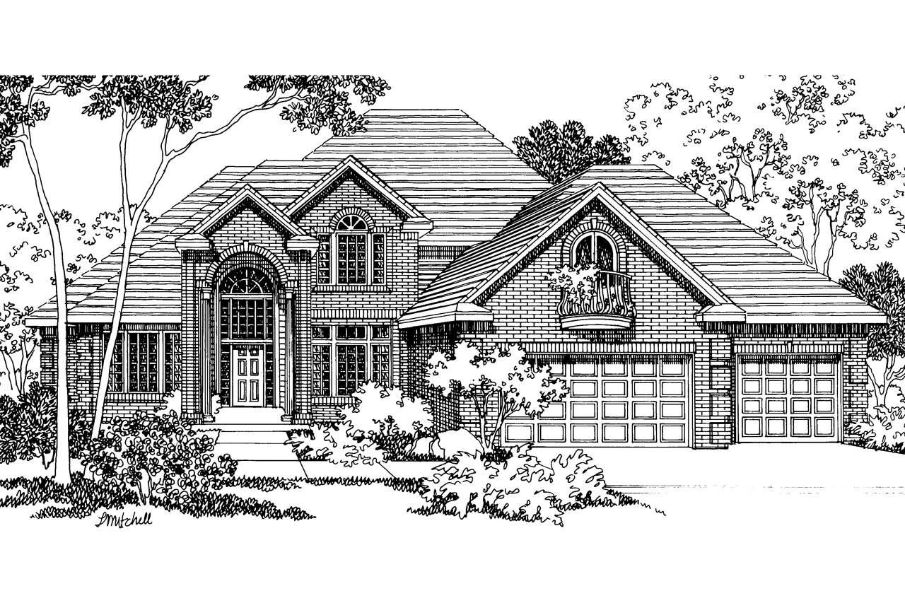 Classic House Plans Merritt Associated Designs