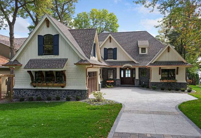 Classic Lake Cottage Home Design Bunch Interior
