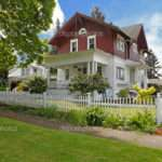 Classic Large Craftsman Old American House Exterior