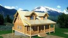 Classic Log Home Design Coast Mountain Homes