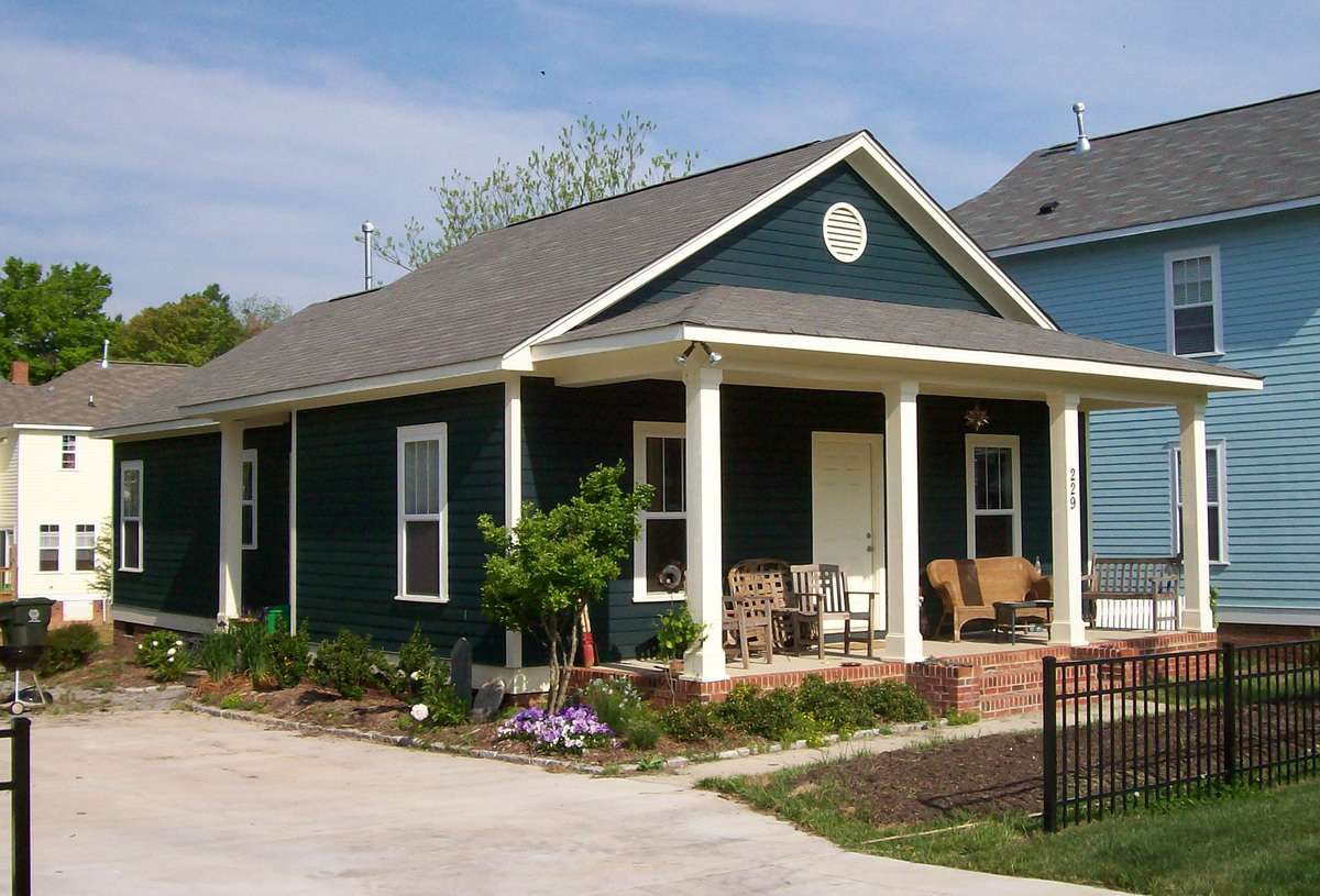 Classic Single Story Bungalow Architectural