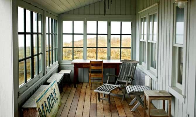 Closed Front Porch Ideas Marvelous