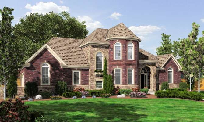 Cloverhurst European Home Plan House Plans