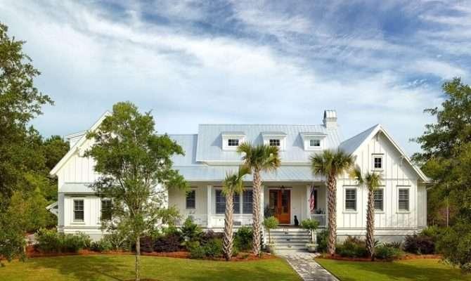 Coastal Cottage Home Plans Flatfish Island Designs