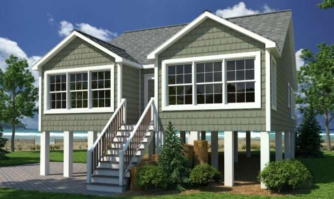 Coastal Cottage Modular Home Floor Plan