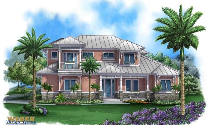 Coastal House Plan Bay Cottage Weber Design Group