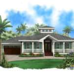 Coastal House Plan Home Floor