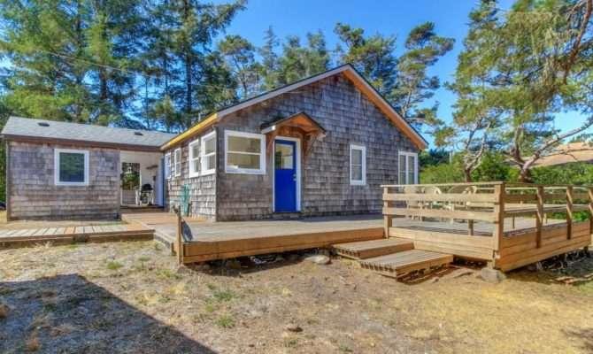 Coastal Oregon Holiday House Rustic Beach Cottage Neskowin