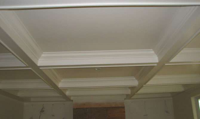 Coffered Vaulted Tray Moulded Ceilings