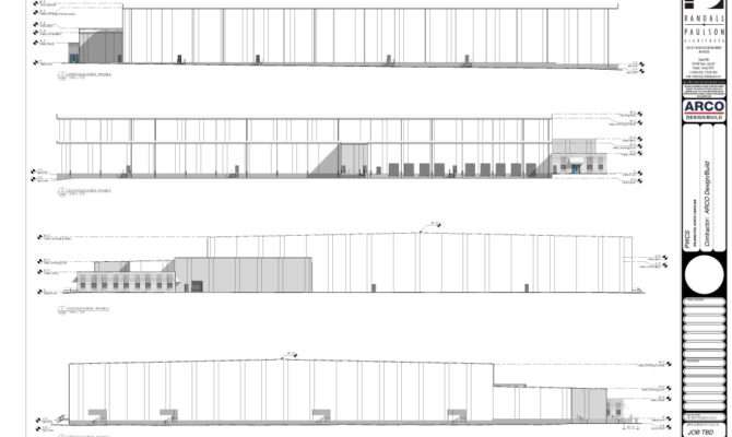 Cold Storage Plan Architectural Drawings Completed