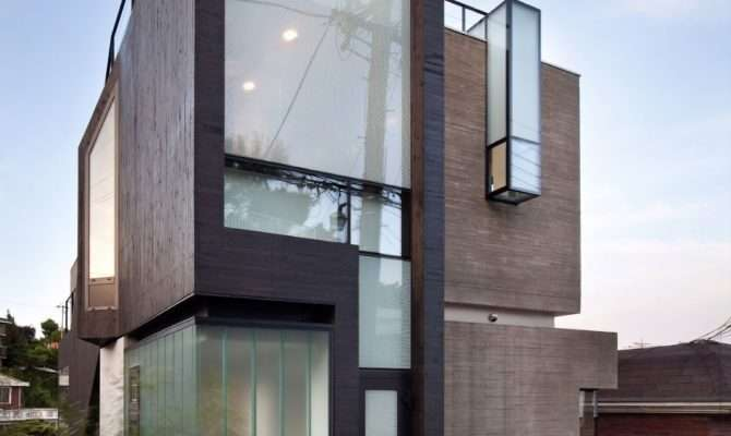 Collection Beautiful Narrow House Design Story