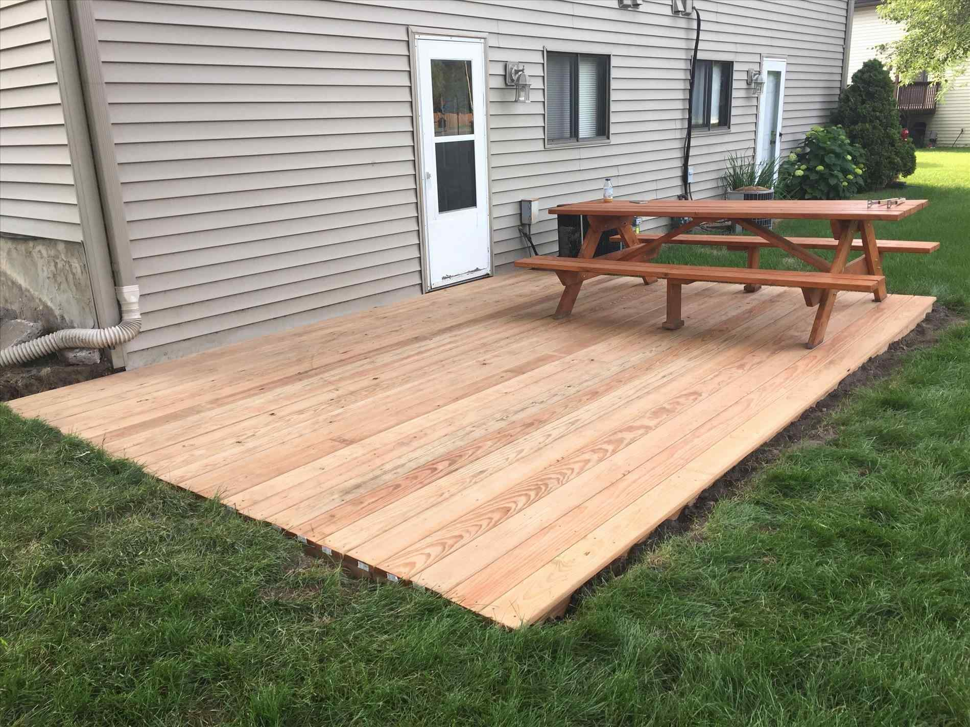Collection Build Floating Deck Howtos