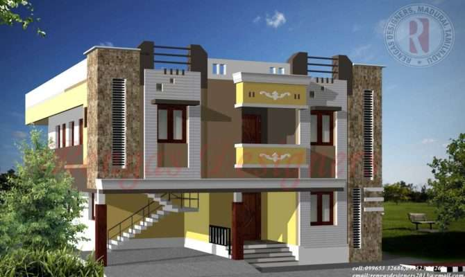 Collections Double Floor Buidling Design Exterior