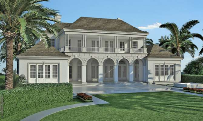 Colonial Caribbean Architecture Old Style House Plans