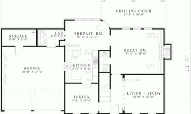 Colonial Home Floor Plans Archives New