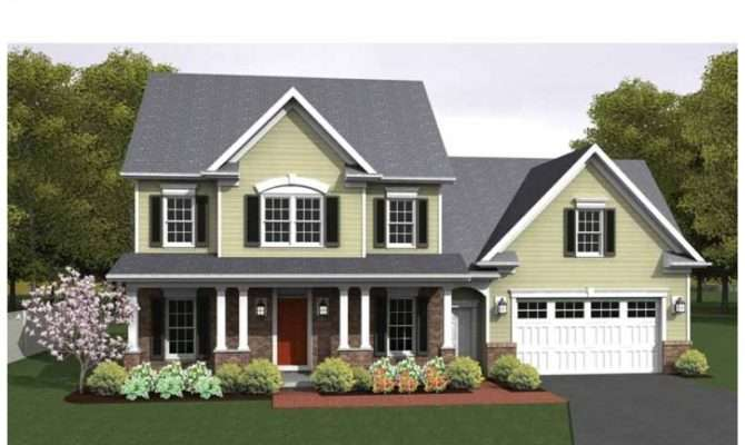 Colonial House Plan Square Feet Bedrooms Dream