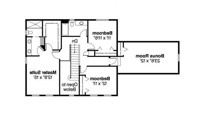 Colonial House Plans Ellsworth Associated Designs