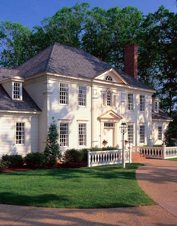 Colonial Plantation Southern House Plan