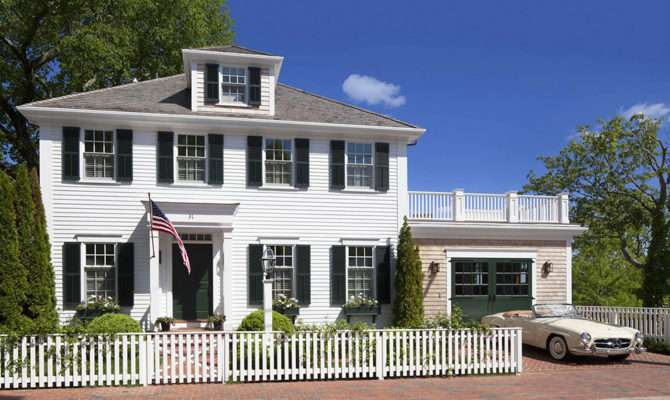 Colonial Style Architecture House Exuding Calmness