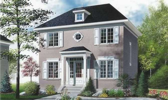 Colonial Style Home Plans Exude Tradition Warmth