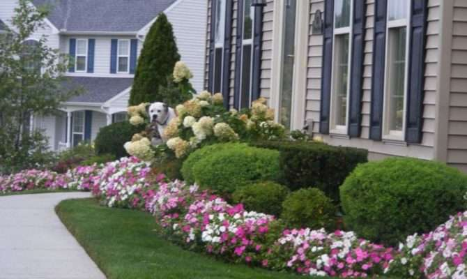 Colorful Landscaping Ideas Front Yard Flowers
