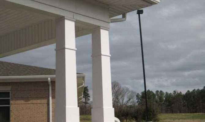 Columns Porch Decorative Exterior Pillars