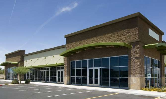 Commercial Retail Buildings Design Small