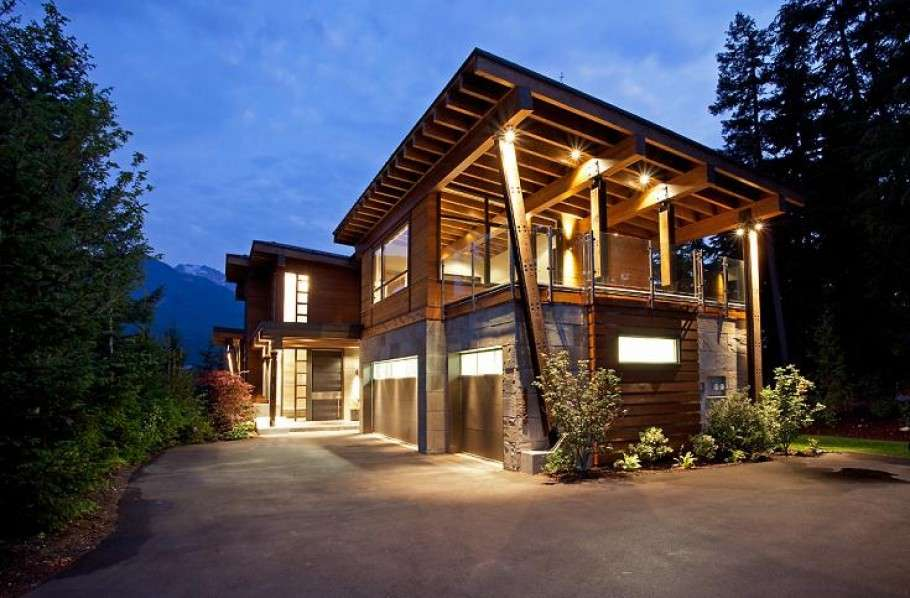 Compass Pointe House Luxury Home Whistler British