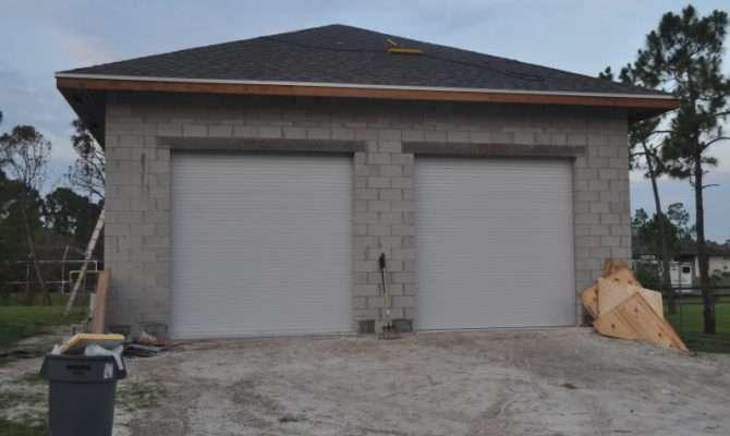 Concrete Block Garage Walls Journal Board