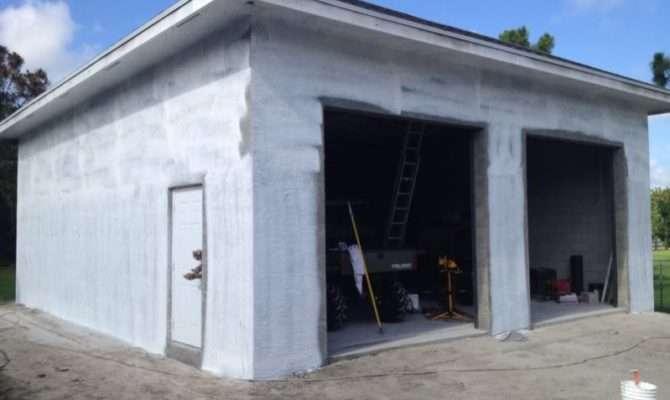 Concrete Block Garage Walls